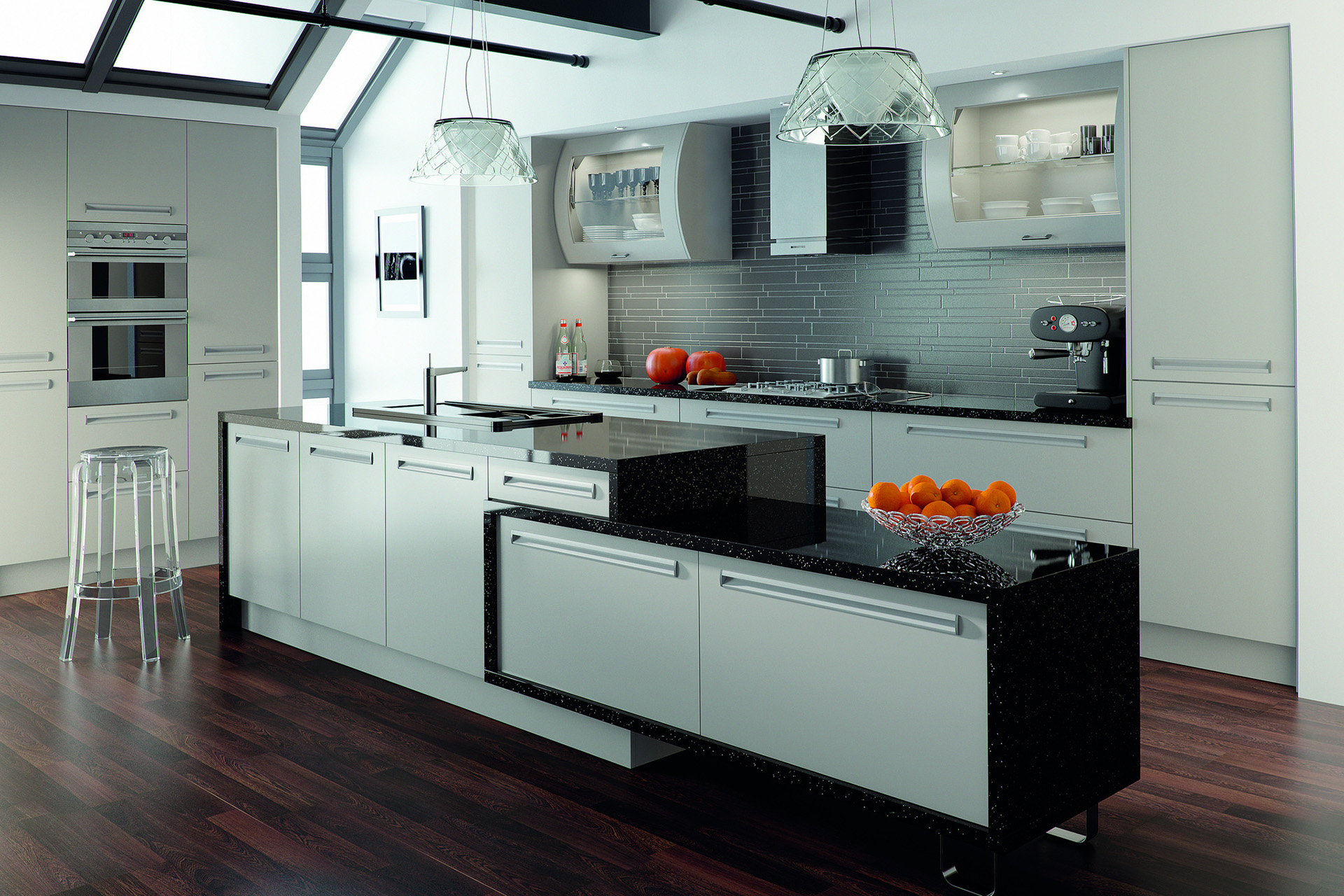 Black And White Kitchens – Craft & Co Remodeling Inc