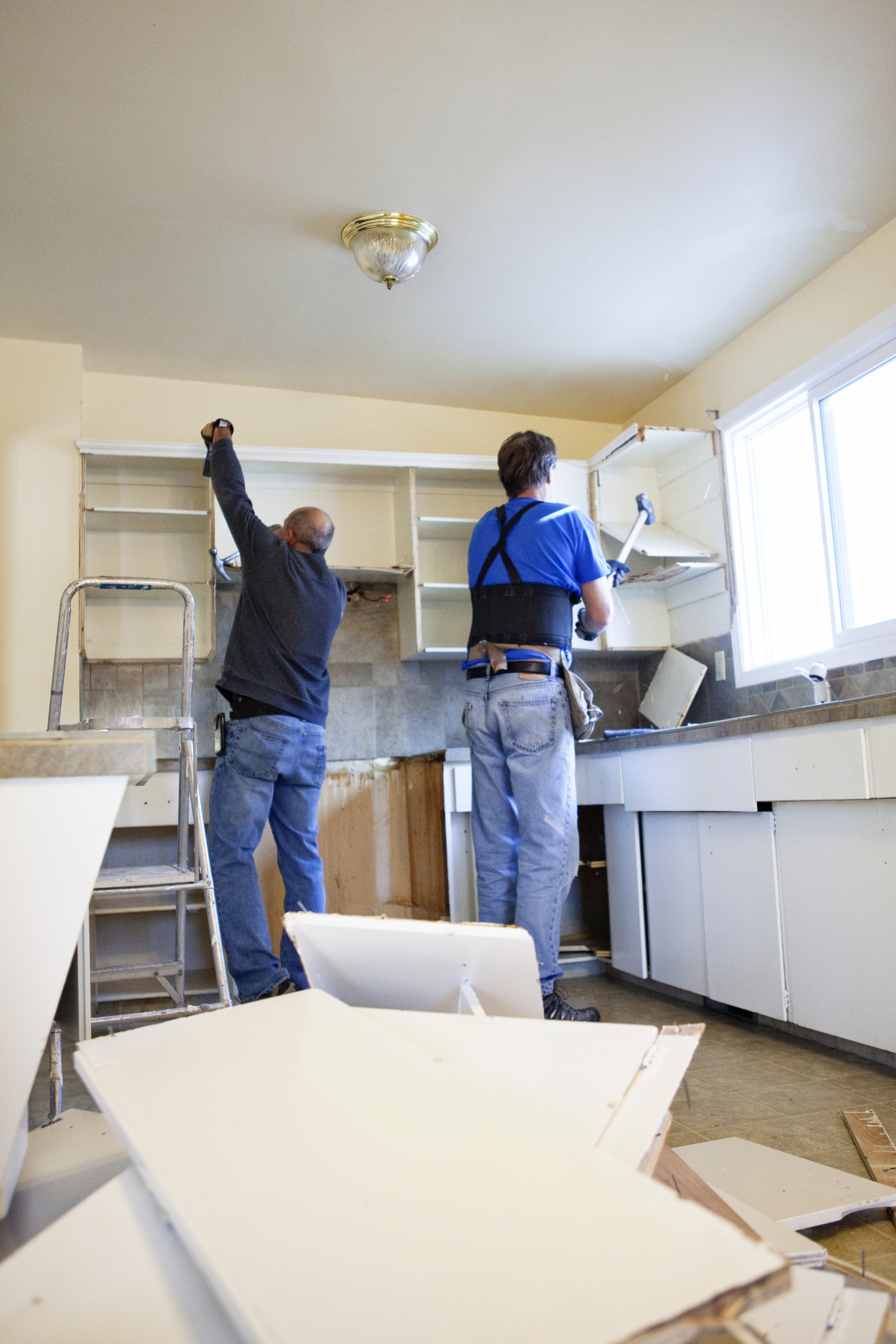 Old Cabinet Removal Disposal Craft Co Remodeling Inc