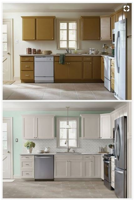 Kitchen Cabinets Remodel Before Amp After Pictures Craft